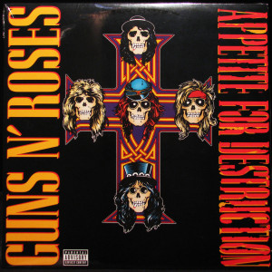 GNR - Appetite For Destruction Vinyl Record LP