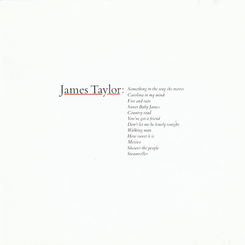 James Taylor Greatest Hits Musiczone Vinyl Records