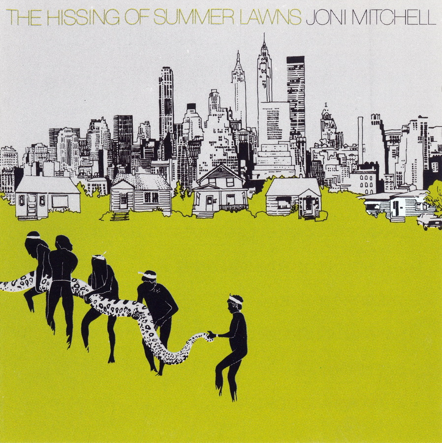 Joni Mitchell The Hissing Of Summer Lawns Musiczone