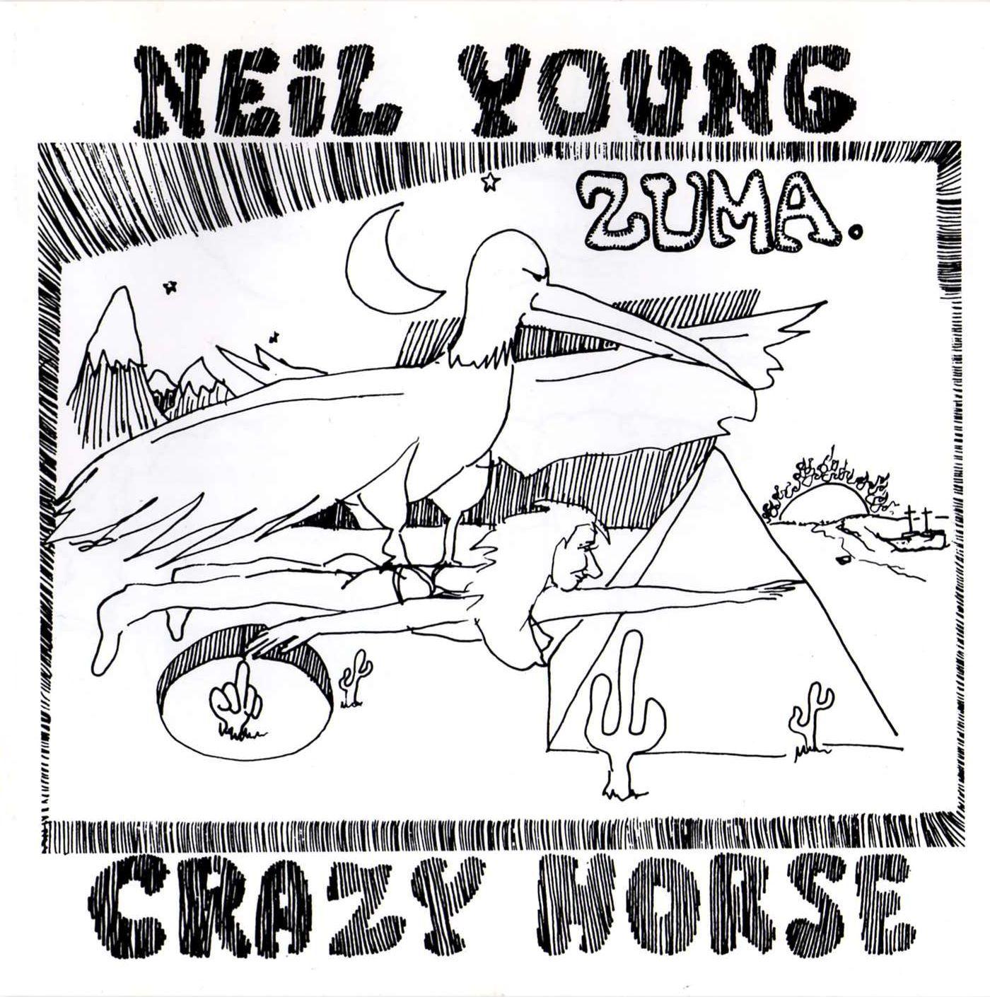 Neil Young Amp Crazy Horse Zuma Musiczone Vinyl