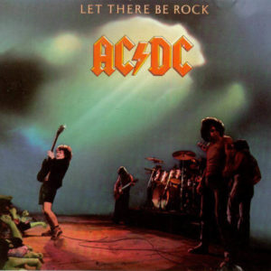 ACDC Let There Be Rock Cork Ireland Vinyl Record LP Shop