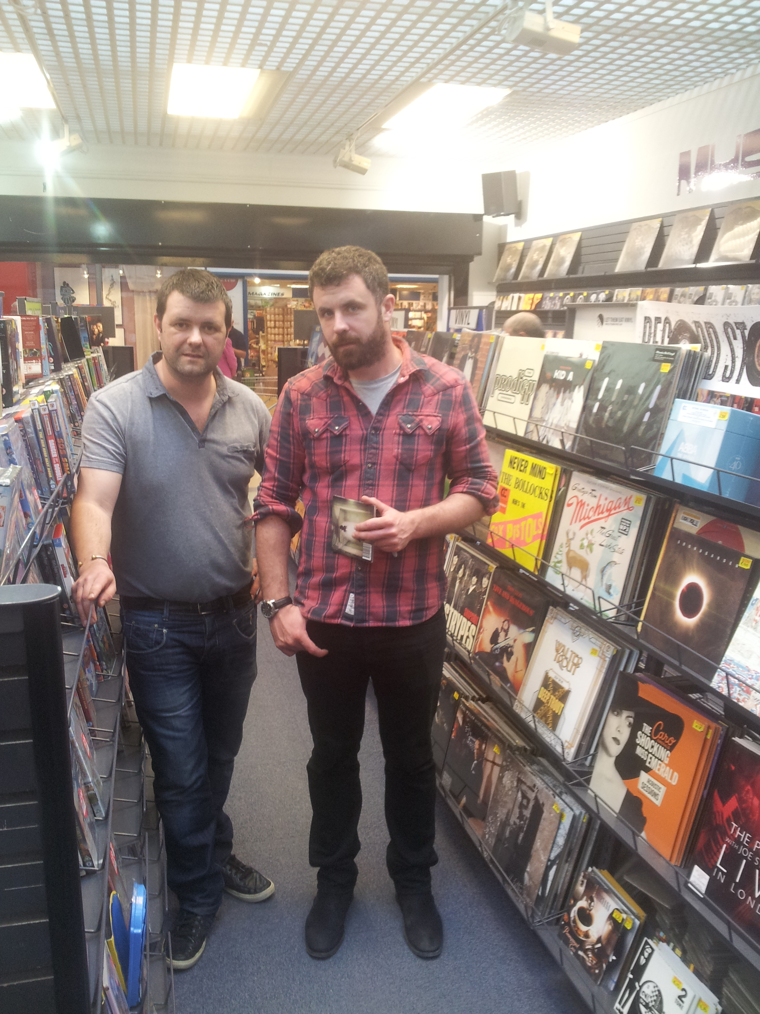 Mick Flannery and Ray 1