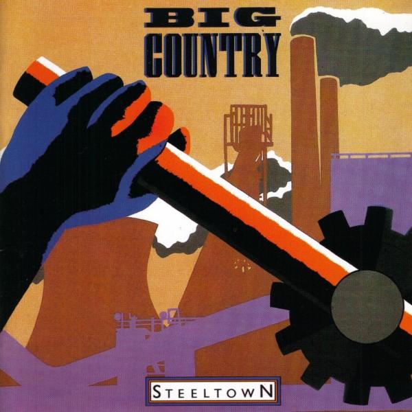 Big Country Steeltown Cork Ireland Vinyl Record LP Shop
