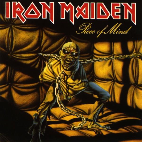 Iron Maiden Piece of Mind Cork Ireland Vinyl Record Shop Records