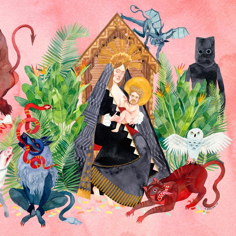 Father John Misty - I Love You Honey Bear Vinyl Record, Music Zone - Cork, Ireland