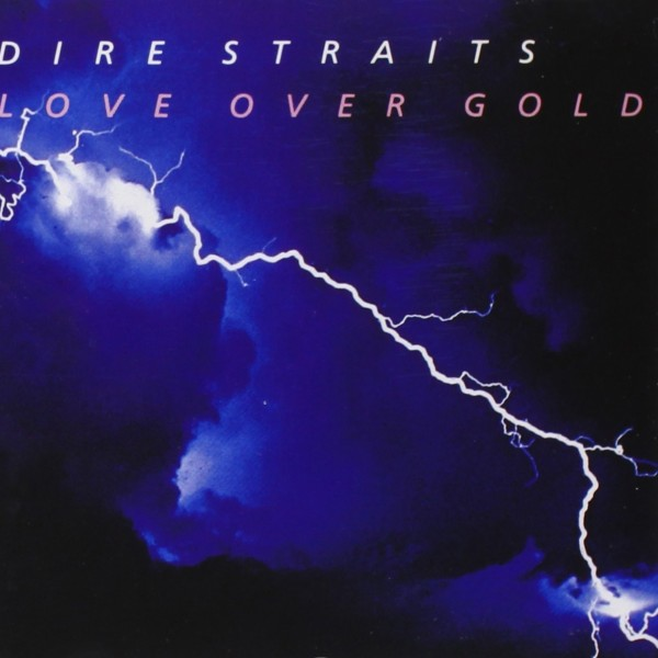 Dire Straits Cork Ireland LP Love Over Gold