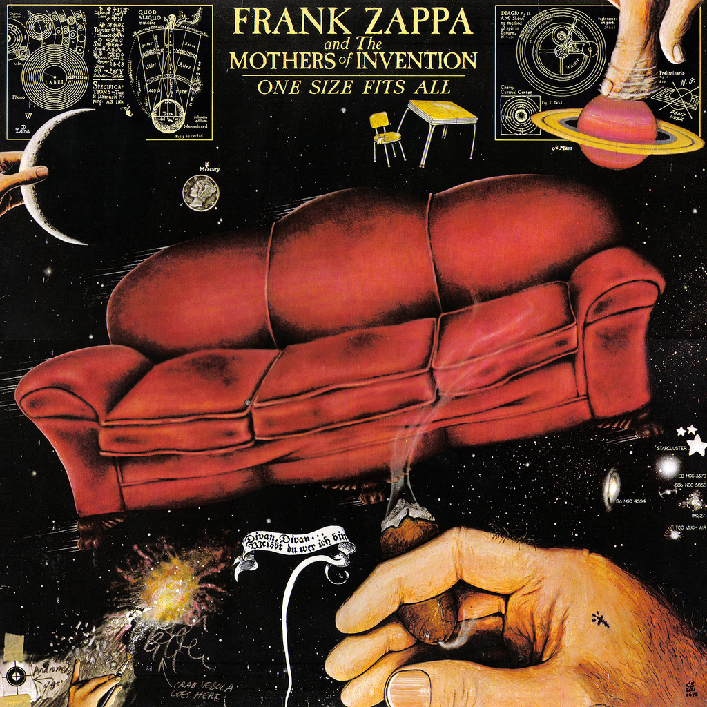 Frank Zappa : One Size Fits All LP