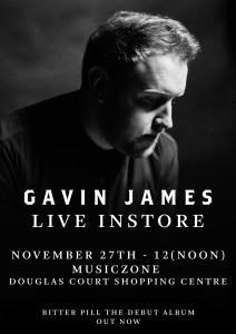 Gavin James Instore