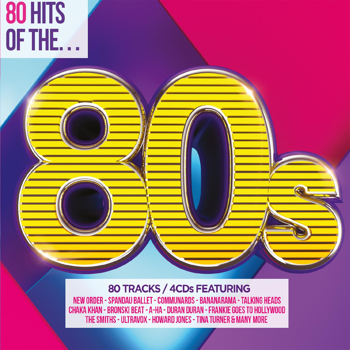 80s 80 Hits Of The 80 S 4cd Musiczone Vinyl