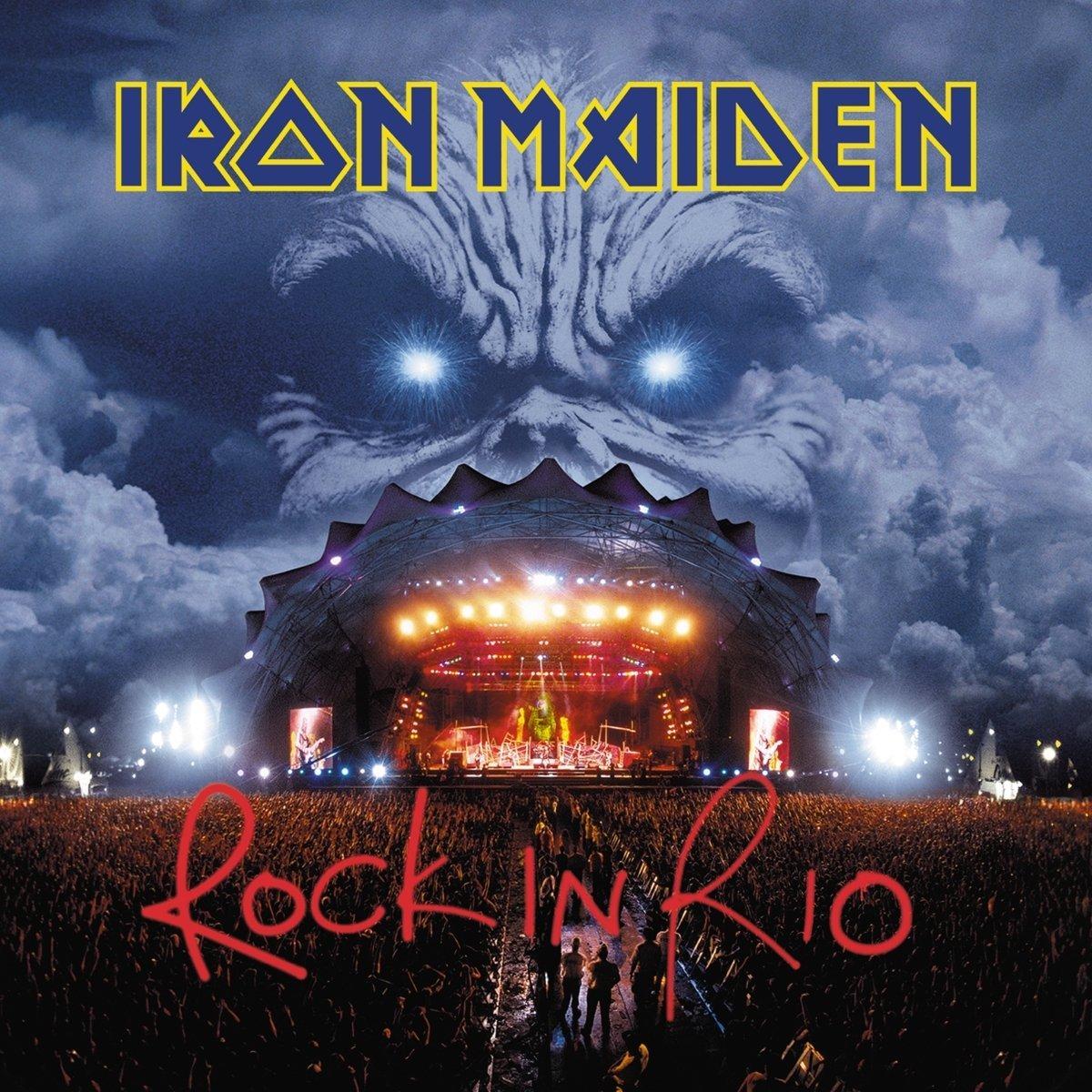 Iron Maiden Rock In Rio Vinyl Record Musiczone
