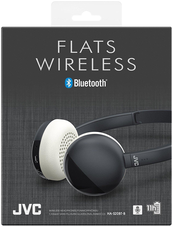 4fa5531d7fa JVC Flats Wireless Bluetooth Headphone Black | MusicZone | Vinyl ...