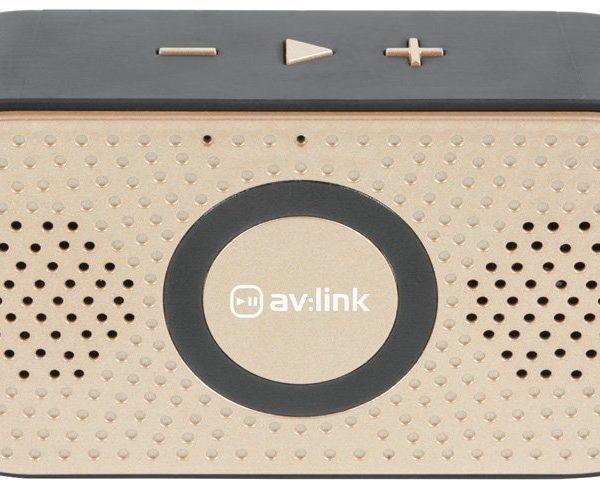 Portable Bluetooth Speaker – Gold