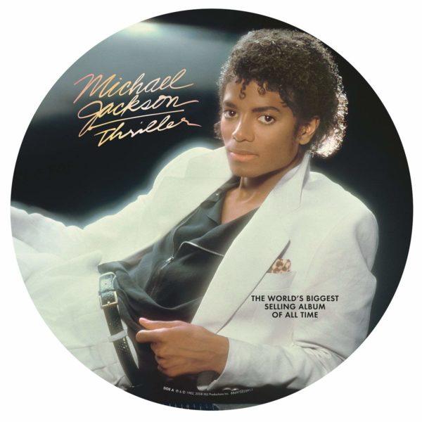 michael jackson thriller pic disc